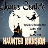 Jones Center Haunted Mansion