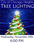 City of Chicago Heights Tree Lighting Ceremony