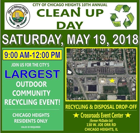 Clean Up day May 19 2018
